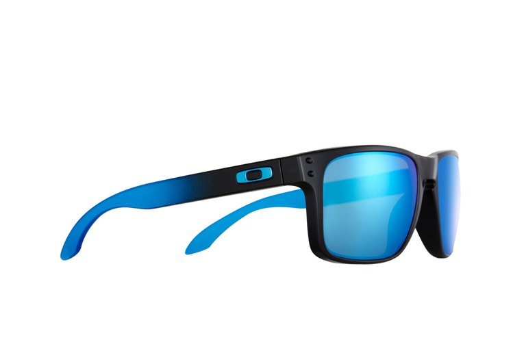 01a038ffe8 Oakley Okulary HOLBROOK PRIZM™ POLARIZED SAPPHIRE FADE COLLECTION Matte  Black   Prizm Sapphire Polarized OO9102-D255