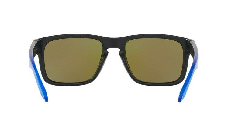 05be48763de ... Oakley Sunglasses HOLBROOK PRIZM™ POLARIZED SAPPHIRE FADE COLLECTION  Matte Black   Prizm Sapphire Polarized OO9102 ...
