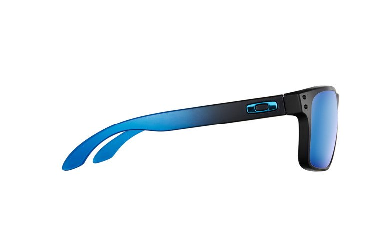 b990bbe77bc ... Oakley Sunglasses HOLBROOK PRIZM™ POLARIZED SAPPHIRE FADE COLLECTION  Matte Black   Prizm Sapphire Polarized OO9102 ...