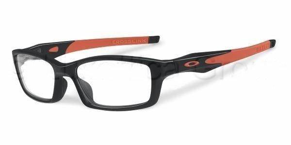 Oakley Oprawa Korekcyjna Crosslink POLISHED BLACK/ORANGE OX8027-1153
