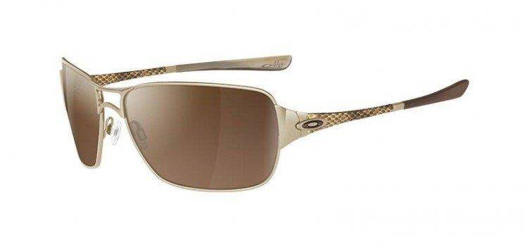 Oakley Sunglasses IMPATIENT Polished Gold/VR50 Brown Gradient 05-788