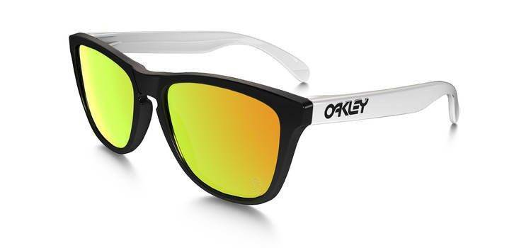 Oakley Okulary SPECIAL EDITION HERITAGE FROGSKINS Black/Fire Iridium 24-418