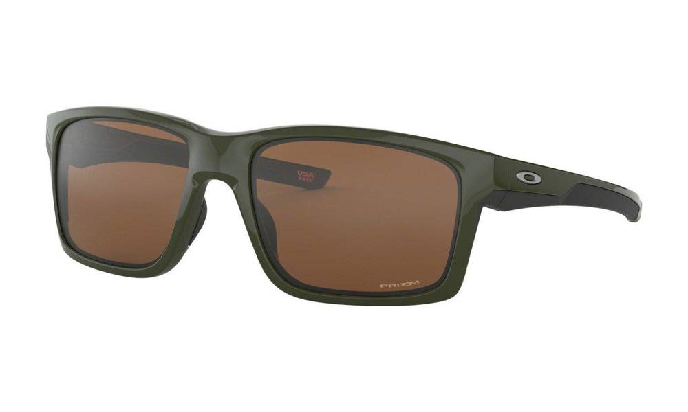 Oakley Sunglasses MAINLINK XL Military Green/Prizm Tungsten OO9264-44