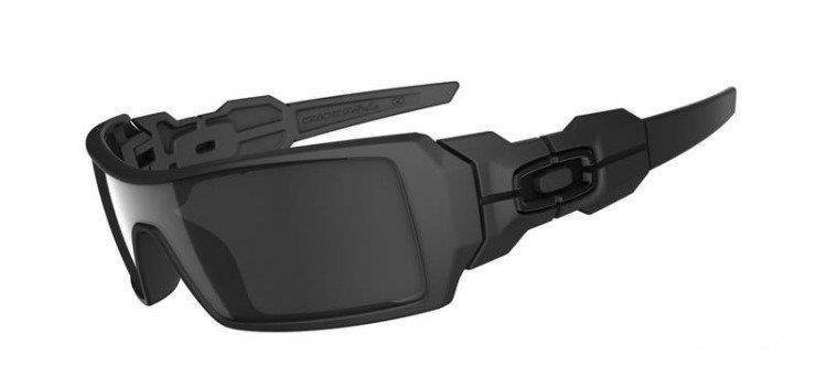 Oakley Oil Rig Matte Black / Black Iridium 03-464