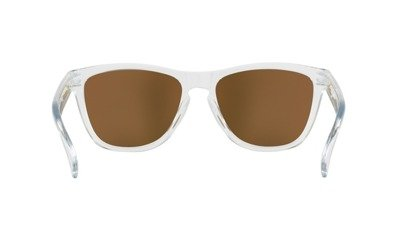 09c8ad0b9a ... OAKLEY Sunglasses FROGSKINS Polished Clear   24K Iridium OO9013-A4 ...