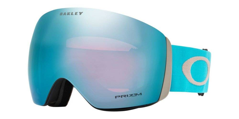 Oakley Gogle Flight Deck Sea MoonRock / Prizm Snow Sapphire Iridium OO7050-66