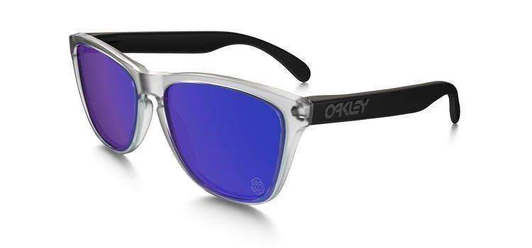 841b2f890d Oakley Sunglasses SPECIAL EDITION HERITAGE FROGSKINS Matte Clear Violet  Iridium 24-419 24-419