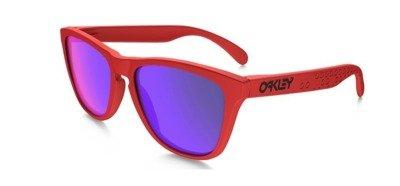 91b883fbc0 Oakley Sunglasses FROGSKINS B1B COLLECTION Matte Red Fire Iridium OO9013-48  OO9013-48