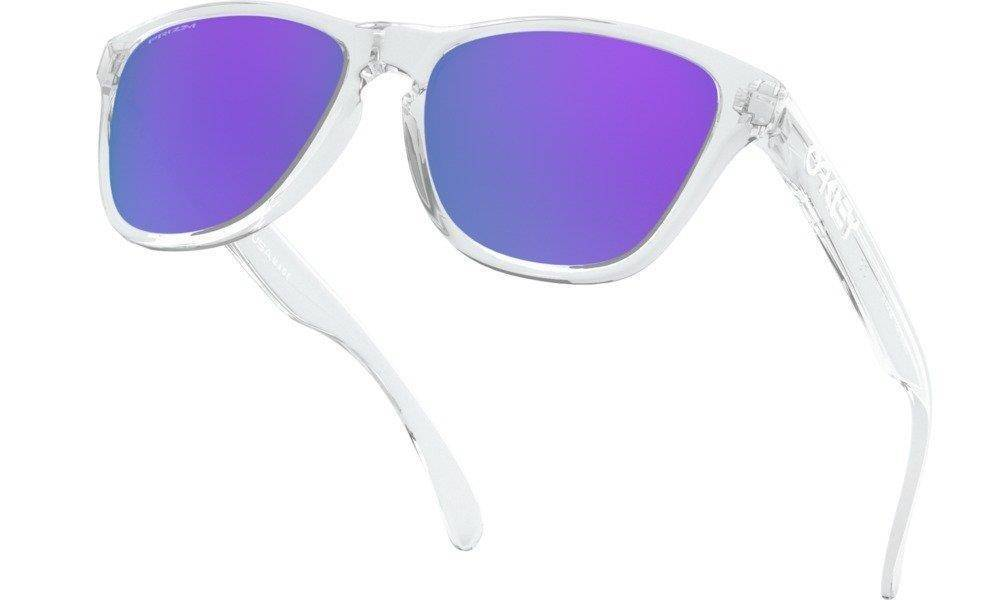Oakley Sunglasses Junior FROGSKINS XS Polished Clear/Prizm Violet OJ9006-14
