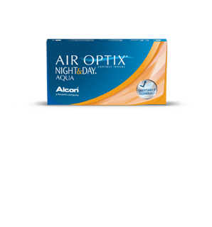 Contact Lenses AIR OPTIX™ NIGHT&DAY AQUA (30 pieces)