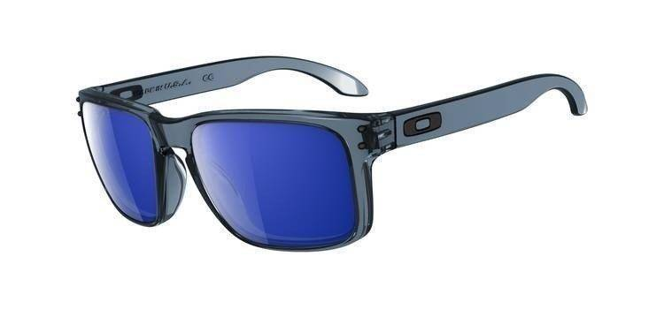Oakley Okulary HOLBROOK Crystal Black/Ice Iridium OO9102-47