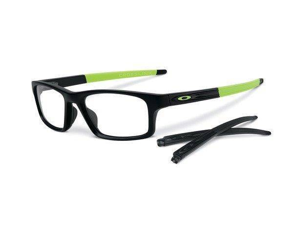 Oakley Oprawa Korekcyjna CROSSLINK PITCH Satin Black/Retina Burn OX8037-09