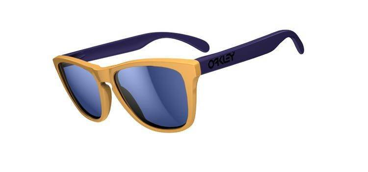 Oakley Okulary Frogskins Drop Off/Blue Iridium 24-362