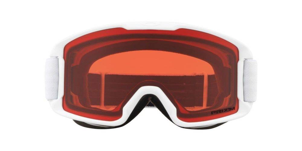 Oakley Gogle Line Miner Youth MATTE WHITE / Prizm Snow Rose OO7095-09
