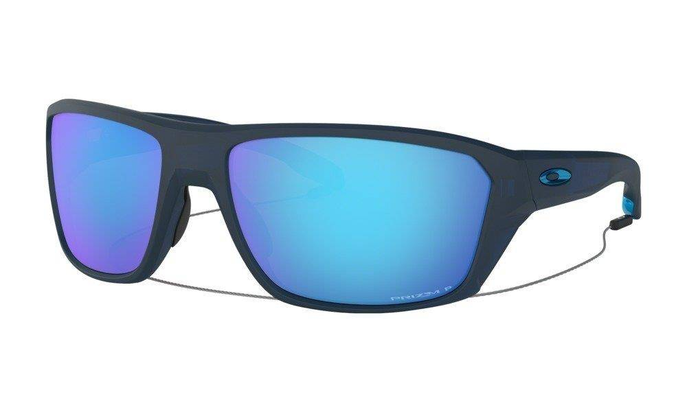 Oakley Sunglasses SPLIT SHOT Matte Translucent Blue/Prizm Sapphire Polarized OO9416-04