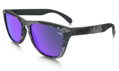 5dee574117 Oakley Sunglasses FROGSKINS Infinite Hero - Carbon Camo Violet Iridium  OO9013-51 OO9013-51