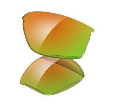 Oakley Szkła FLAK JACKET Fire Iridium Polarized 13-727