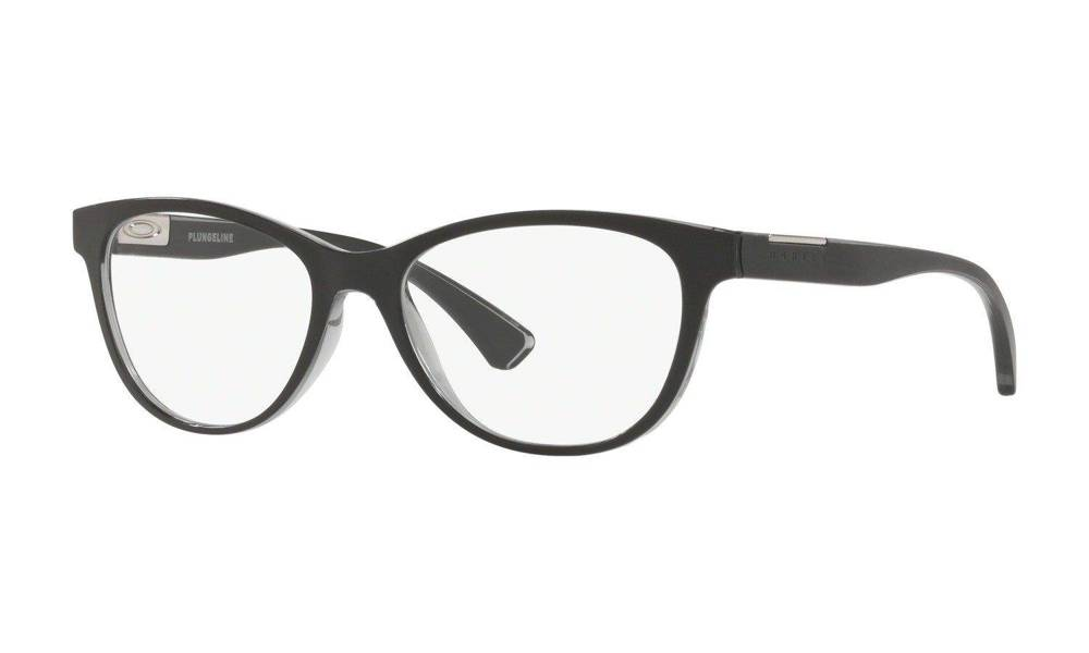 Oakley Optical Frame PLUNGELINE Polished Shadow Grey OX8146-01