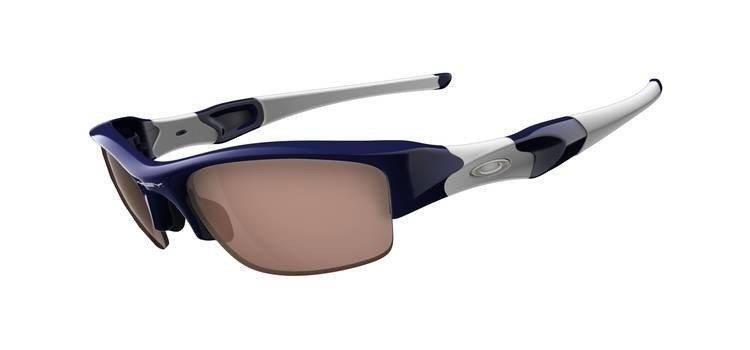 Oakley Okulary FLAK JACKET Polished Navy/VR28 Black Iridium 03-904