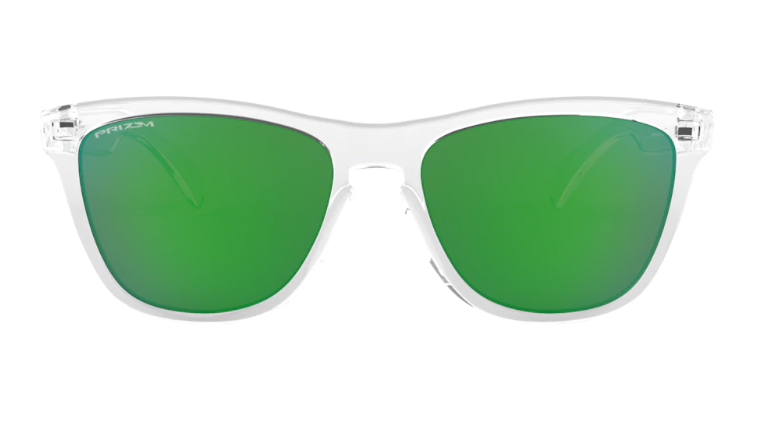 Oakley Sunglasses FROGSKINS Prizm Crystal Clear /Prizm Jade OO9013-D6