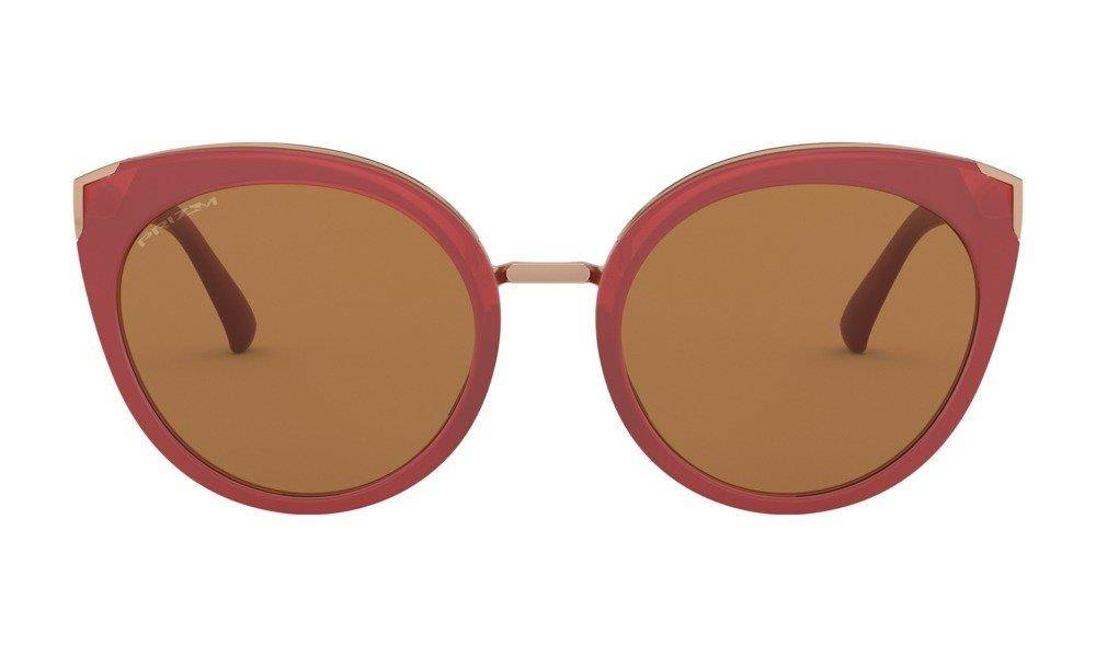 Oakley Sunglasses TOP KNOT Unison Collection Berry/Prizm Bronze OO9434-08