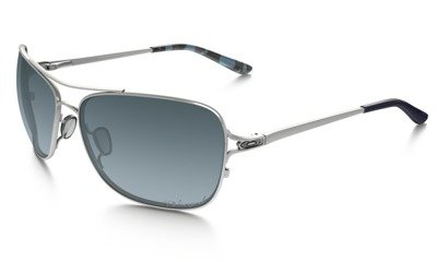 4bd3880c291 OAKLEY Sunglasses CONQUEST Polished Chrome   Gray Gradient Polarized  OO4101-06 OO4101-06