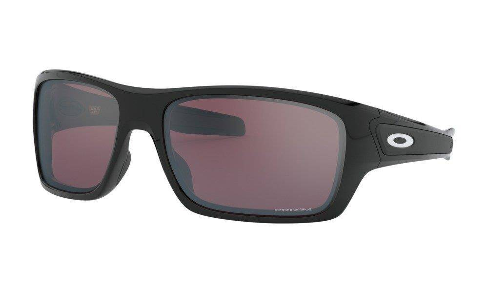 Oakley Sunglasses TURBINE Polished Black/Prizm Snow Black OO9263-59