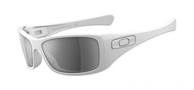Oakley Hijinx Polished White / Black Iridium 12-776