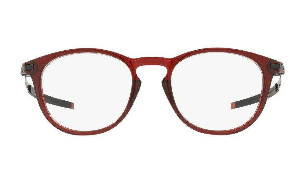 Oakley Oprawy korekcyjne PITCHMAN R Trans Brick Red/Clear OX8105-11