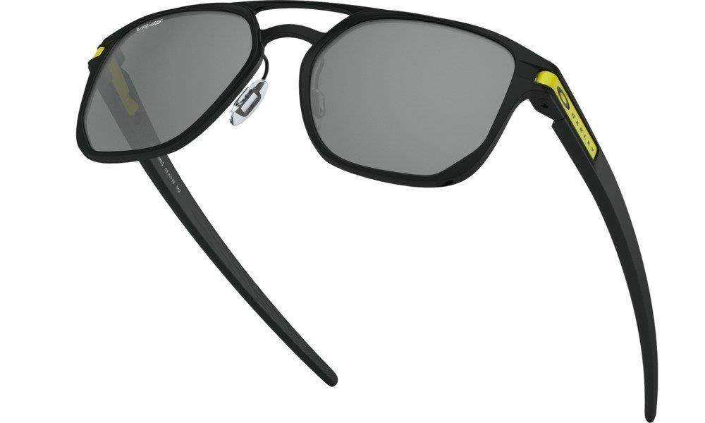 Oakley Sunglasses LATCH ALPHA Matte Black/Prizm Black OO4128-08
