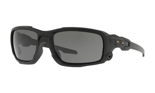 Oakley Sunglasses Matte Black/Grey OO9329-01 - small1