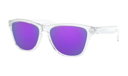 Oakley Sunglasses Junior FROGSKINS XS Polished Clear/Prizm Violet OJ9006-14 - small1