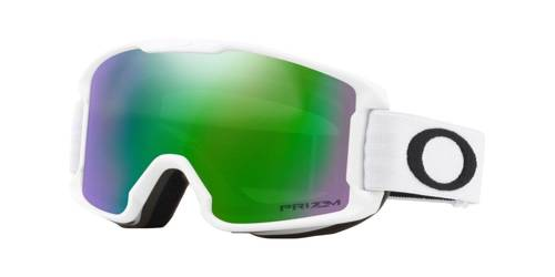 Oakley Gogle Line Miner Youth MATTE WHITE / Prizm Snow Jade Iridium OO7095-07 - small1
