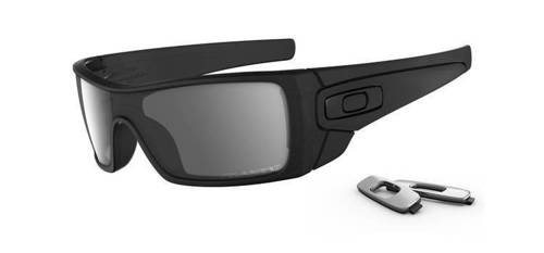 Oakley Okulary BATWOLF Matte Black Ink/Black Iridium Polarized OO9101-35