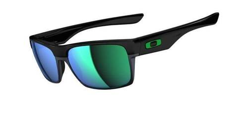 Oakley Okulary TWOFACE Polished Black/Jade Iridium OO9189-04