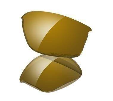 Oakley Szkła FLAK JACKET Gold Iridium Polarized 13-652