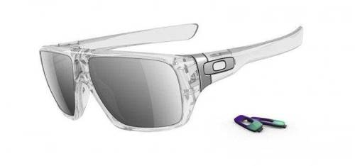 Oakley Sunglasses Dispatch Polished Clear / Chrome Iridium OO9090-05