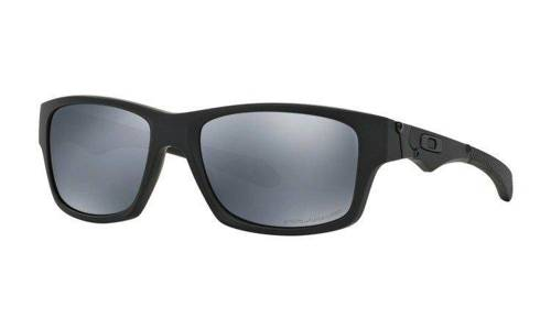 Oakley Sunglasses  JUPITER SQUARED Matte Black/Black Iridium Polarized OO9135-09 - small1