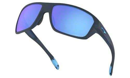 Oakley Sunglasses SPLIT SHOT Matte Translucent Blue/Prizm Sapphire Polarized OO9416-04 - small5