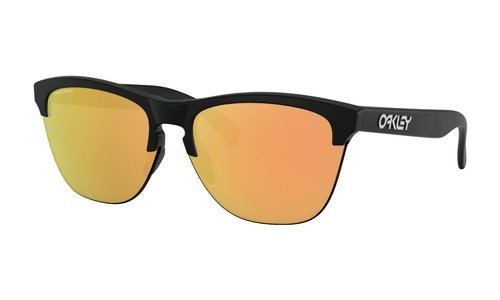 Oakley Sunglasses FROGSKINS LITE Matte Black/Prizm Rose Gold OO9374-26 - small1