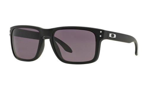 Oakley Okulary HOLBROOK Matte Black/Warm Grey OO9102-01