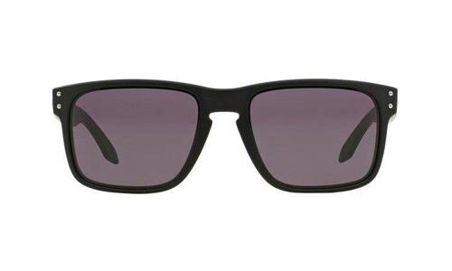 Oakley Okulary HOLBROOK Matte Black/Warm Grey OO9102-01 - small2
