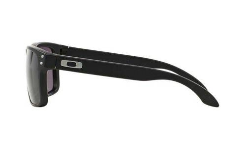 Oakley Okulary HOLBROOK Matte Black/Warm Grey OO9102-01 - small4