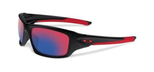 Oakley Okulary VELVE Polished Black/Positive Red Iridium OO9236-02