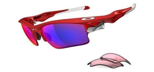 Oakley Okulary FAST JACKET XL Infrared/Positive Red Iridium & VR28 OO9156-16