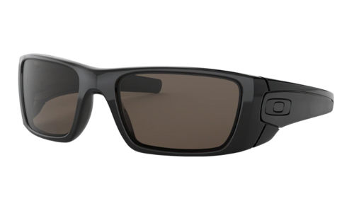 Oakley Sunglasses FUEL CELL Polished Black/Matte Black/ Warm Grey OO9096-01 - small1