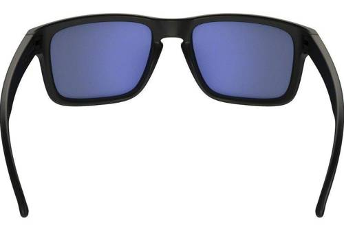 Oakley Sunglasses  HOLBROOK Matte Black/Ice Iridium Polarized OO9102-52 - small3