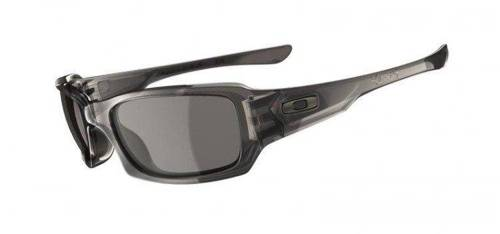 Oakley Sunglasses FIVES SQUARED Grey Smoke/Warm Grey 03-441