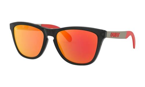 Oakley Sunglasses FROGSKINS MIX  MotoGP  Matte Black Ink/Prizm Ruby OO9428-09 - small1