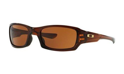 Oakley Sunglasses FIVES SQUARED Rootbeer/Dark Bronze OO9238-07 - small1